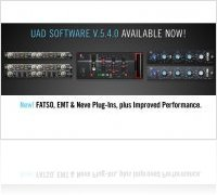 Plug-ins : UAD Powered Plug-Ins v5.4.0 Software is out ! - macmusic