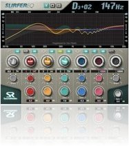 Plug-ins : Sound Radix Annonce SurferEQ - macmusic