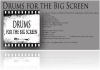 Music Software : Hollywood Loops releases - Drums For The Big Screen - macmusic