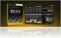 Virtual Instrument : Toontrack Announces EZmix 2 - macmusic
