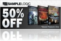 Virtual Instrument : Time & Space 50% off Sample Logic instruments - macmusic
