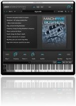 Virtual Instrument : UVI Releases MachFive Biosphere - macmusic