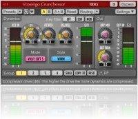 Plug-ins : Voxengo Crunchessor 2.8 Track Compressor Released - macmusic
