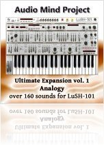 Music Software : Ultimate Expansion Vol. 1: Analogy for LuSH-101 - macmusic