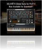 Instrument Virtuel : EASTWEST Annonce SSL/EW FX Suite pour PLAY4 - macmusic