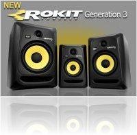 Audio Hardware : KRK Systems Releases ROKIT G3 Studio Monitors - macmusic