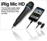 Audio Hardware : Ik Multimedia Announces iRig Mic HD - macmusic